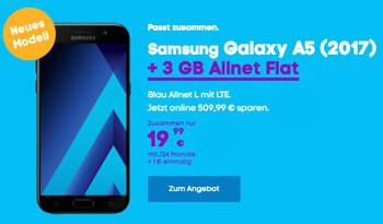 Blau Samsung Galaxy A5