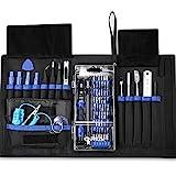 Oria Schraubendreher Set, 76 in 1 Magnetic Präzisions Reparatur Werkzeug mit 56 Bits, Feinmechanik Werkzeug - Blau