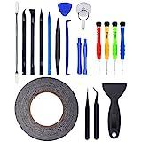 Zacro 21 in 1 Profi Reparatur Werkzeug Set Tool kit für Handy und Smartphone & Multimedia oder andere Kleingeräte, Inkl. Mikrofasertuch.