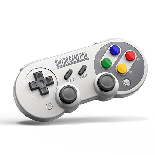 QUMOX 8Bitdo SF30 Pro Controller Gamepad für Windows Mac OS Android Nintendo Switch
