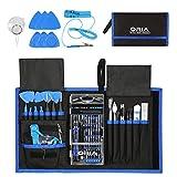 Oria 86 in 1 Schraubendreher Set, Magnetic Präzisions Reparatur Werkzeug mit 57 Bits, Feinmechanik Werkzeug - Blau