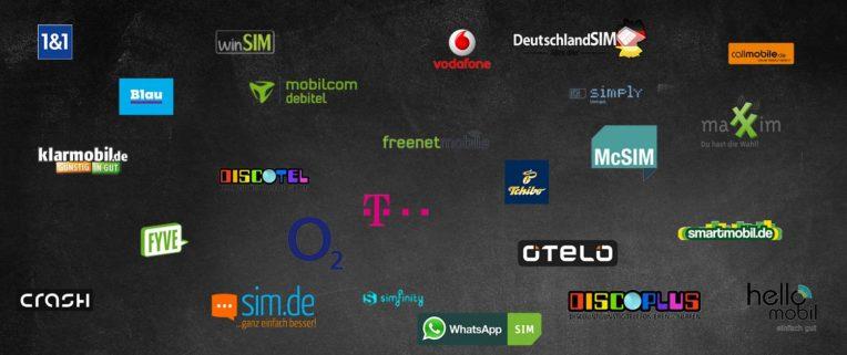 Deutsche Mobilfunkanbieter im Überblick