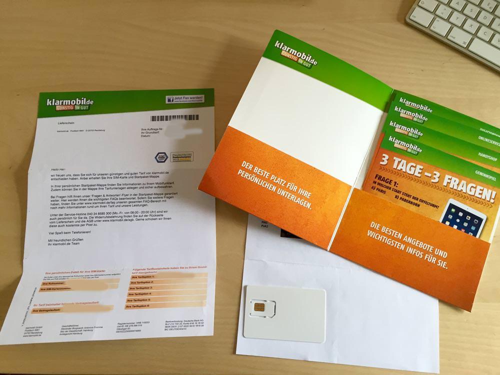 klarmobil Starter-Paket