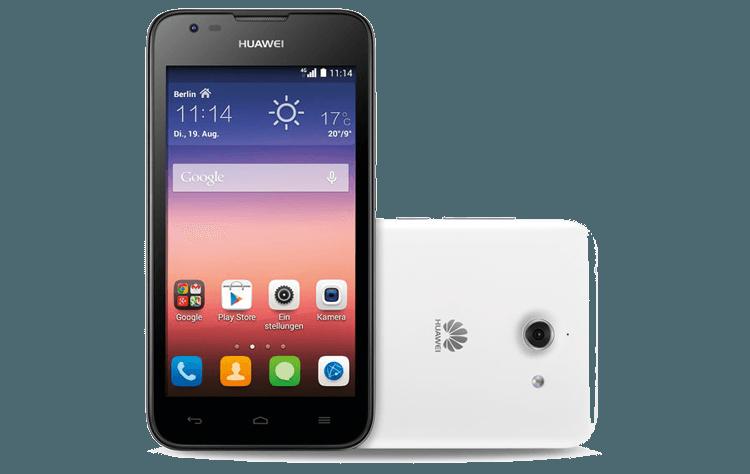 Huawei Ascend Y550 als Einsteiger Smartphone