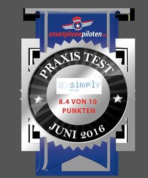 simply Testsiegel / Auszeichnung