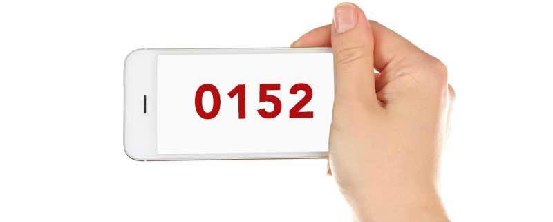 0152 – welches Netz? Welcher Anbieter?