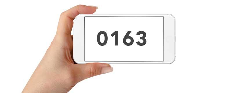 0163 Netz Anbieter
