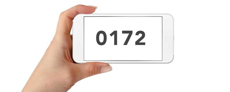 0172: Welches Netz & welcher Anbieter hat diese Vorwahl?