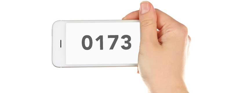 0173 Vorwahl: Welcher Anbieter nutzt diese Vorwahl? Welches Netz?