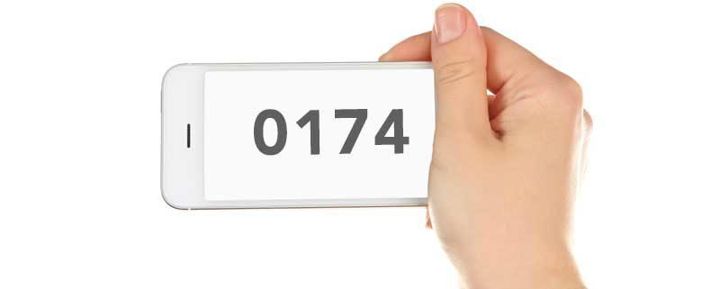 0174 Vorwahl: Welches Netz? Welcher Anbieter