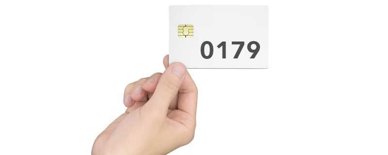 0179 Vorwahl: Welches Netz wird verwendet?