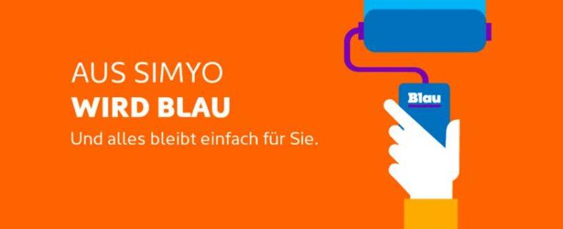 simyo macht blau: Ab heute werden auch Prepaid-Kunden migriert