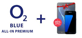 o2 gratis Tablet Blue All-In Premium