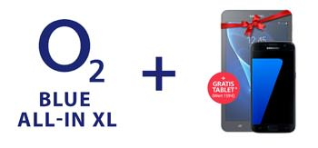 o2 gratis Tablet Blue All-In XL