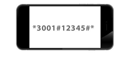 GSM-Code: Field Test beim Apple iPhone