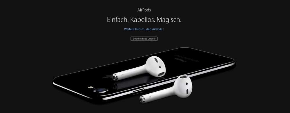 iPhone 7 ohne Kopfhörer
