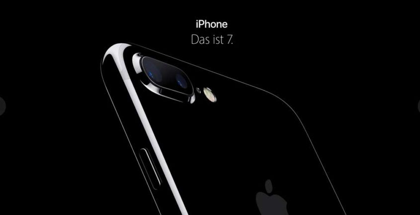 iPhone 7 diamantschwarz