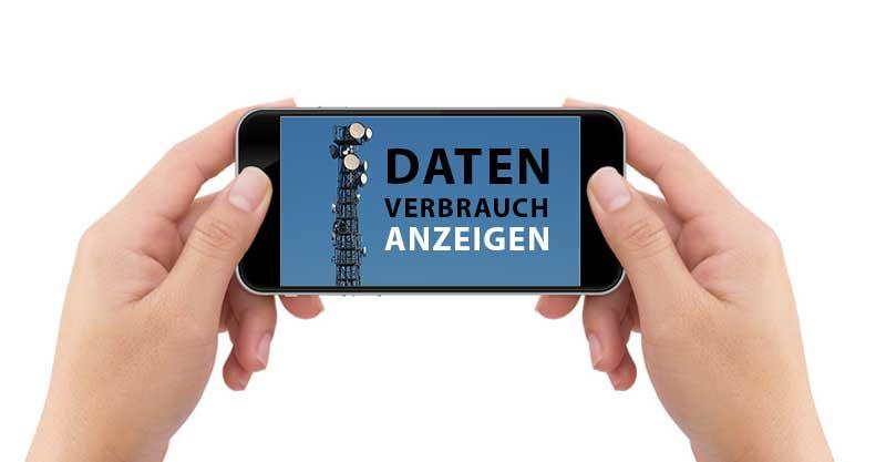 iPhone Datenverbrauch anzeigen