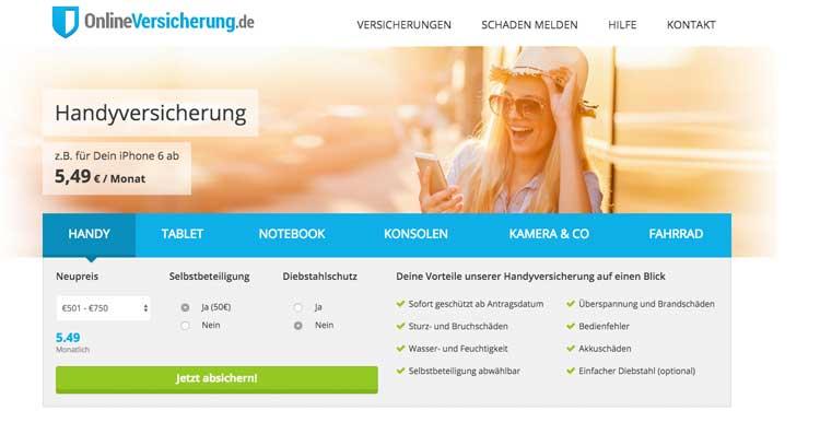 Onlineversicherung.de Erfahrungen