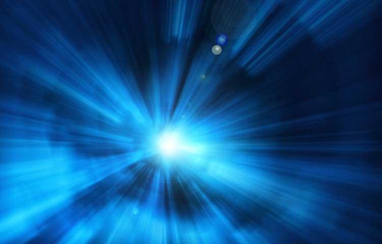 Smartphones blaues Licht
