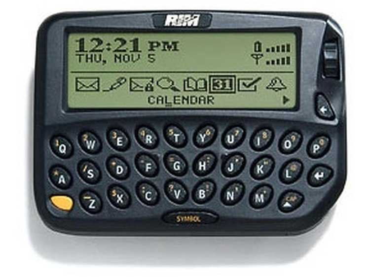 Das Blackberry 850 - Quelle: zdnet.com