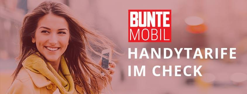 BUNTE mobil Handytarife im Check: Treue wird belohnt