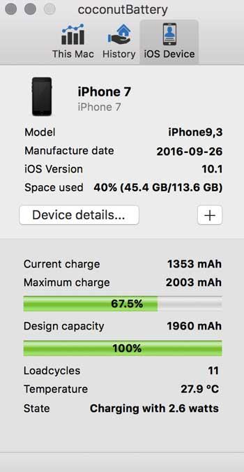 iPhone Akku kalibrieren