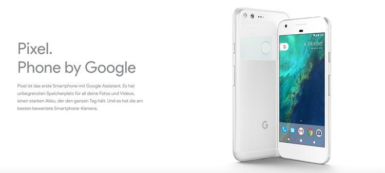Google Pixel bestellen