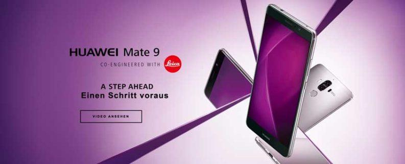 Huawei Mate 9 und Mate 9 Porsche Design: Test, Info, Preise & Vorbestellung