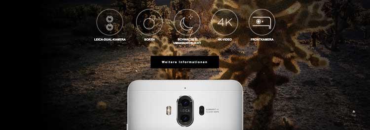 Huawei Mate 9 mit Leica Kamera