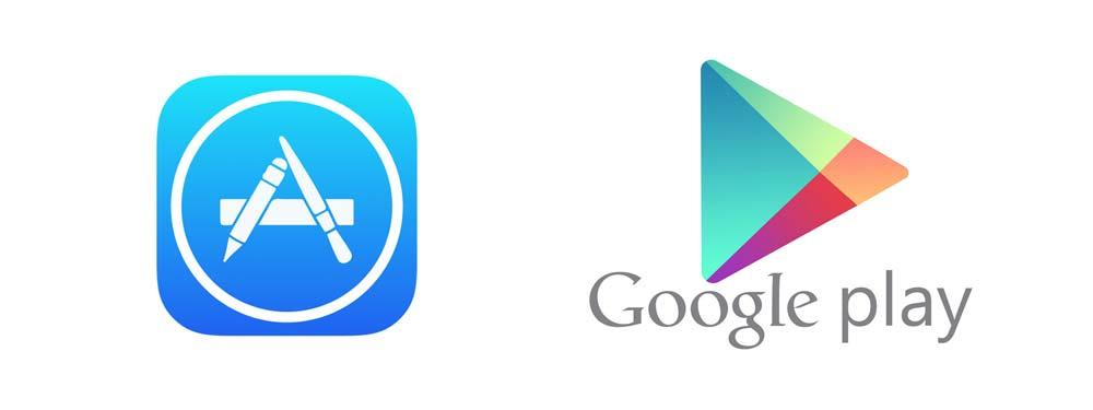 AppStores von Apple und Google
