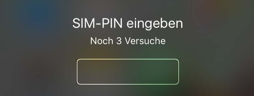iPhone entsperren
