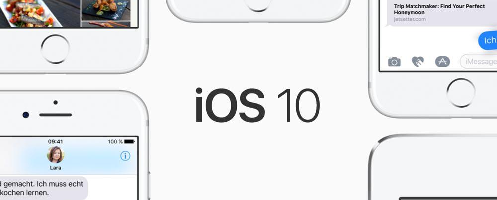 System-Apps löschen unter iOS 10