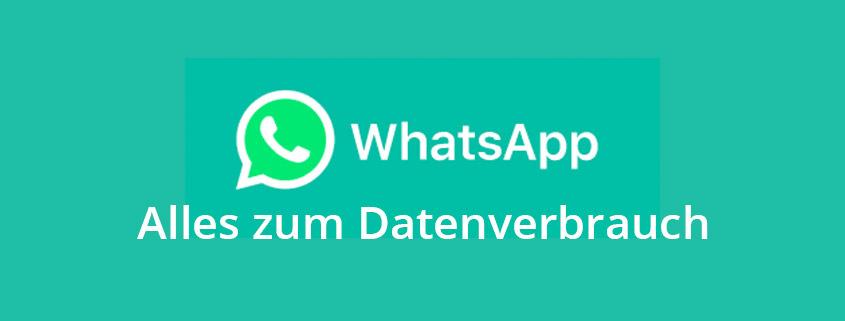 WhatsApp Datenverbrauch