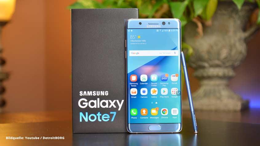 Samsung Galaxy S7: Akku wird abgeschaltet