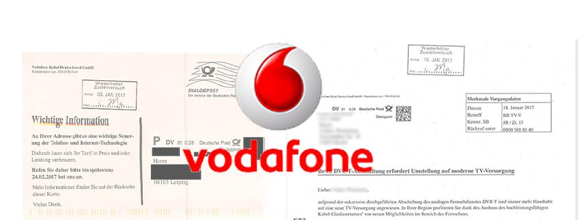 Vodafone-Werbung zu DVB-T