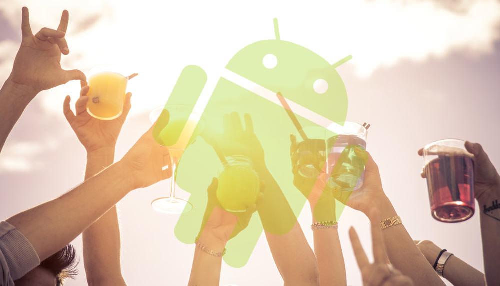 Android Nutzer trinken mehr Alkohol