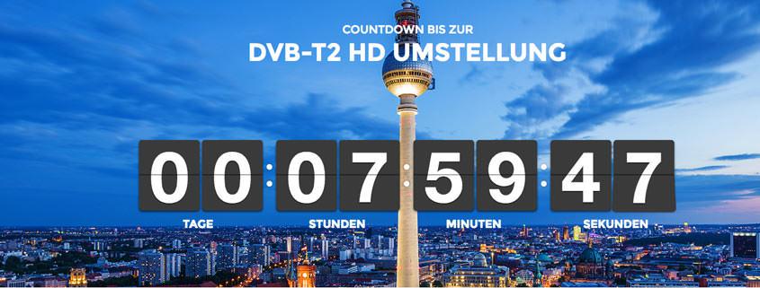 DVB-T2 HD wird abgeschaltet