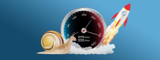 Handy-Geschwindigkeit