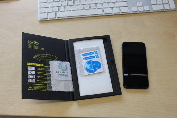 Schutzfolie & Panzerglaskit für's Smartphone