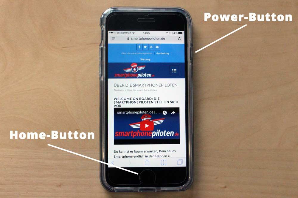 Anleitung: Screenshot auf dem iPhone erstellen