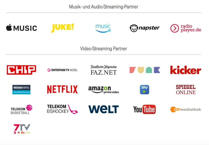 Medienpartner bei Telekom StreamOn