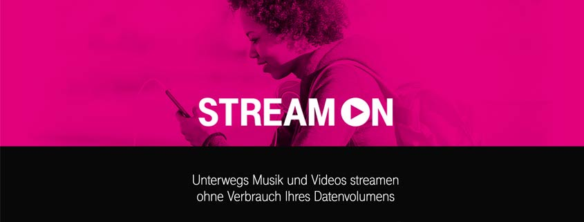 Telekom StreamOn bei MagentaMobil