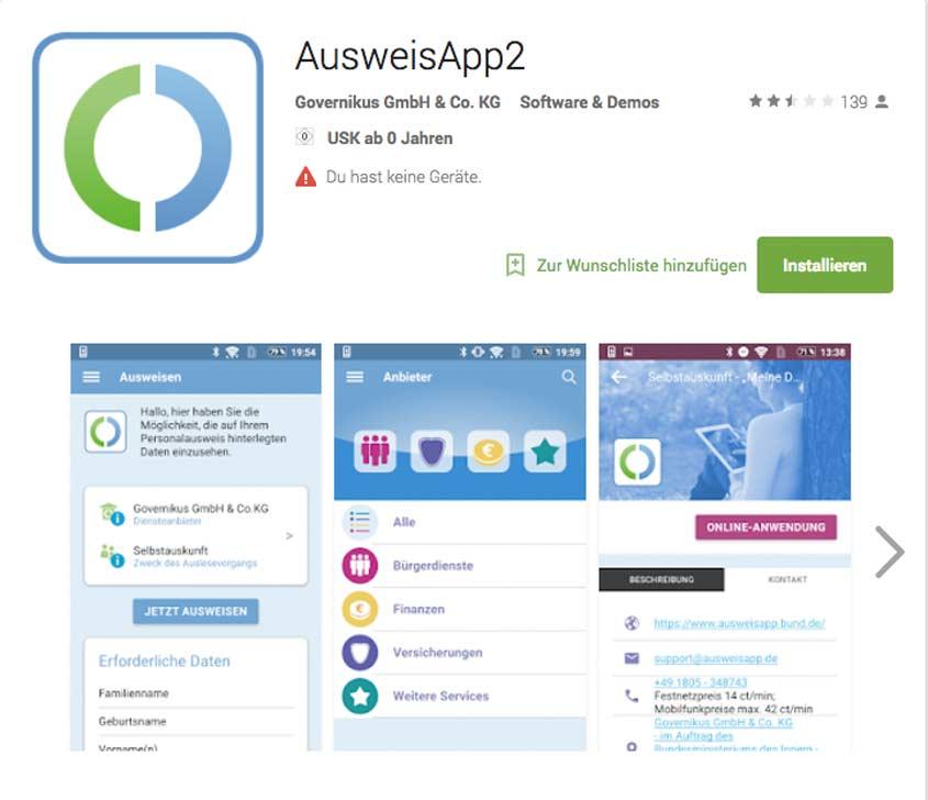 AusweisApp für Android