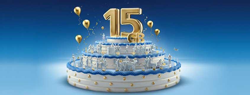 o2 Free 15 GB für 29,99 €: Aktionen zum 15. Geburtstag von o2 im Überblick