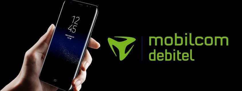 Samsung Galaxy S8 / S8 Plus + D1 / D2 Allnet Flat (2 oder 4 GB) bei mobilcom-debitel für 34,99 €