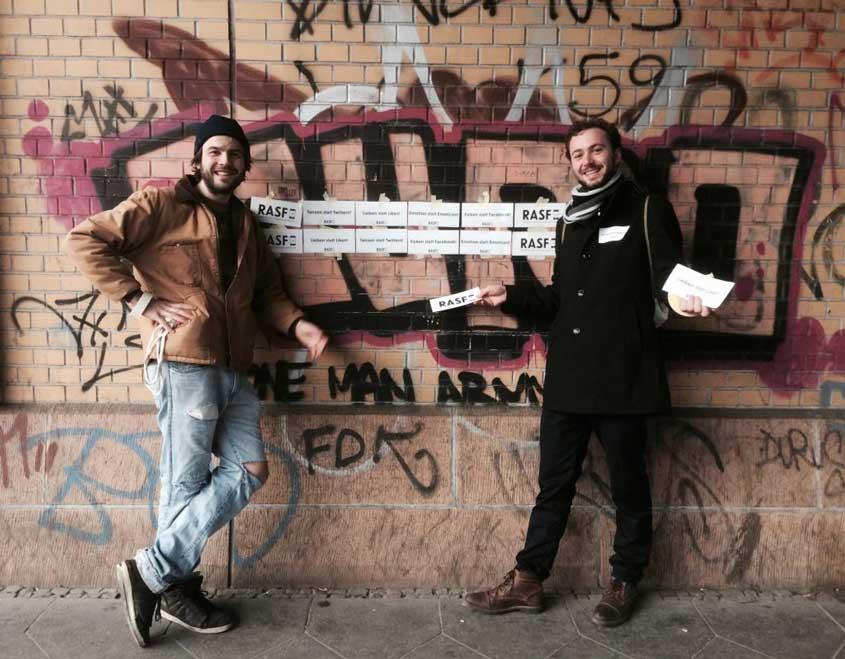 RASF-Gründer Benno und Wenzel