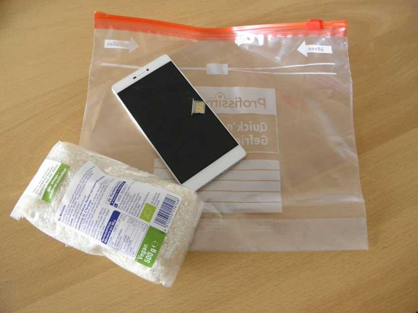 Wasserschaden Smartphone Hausmittel
