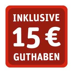 WhatsApp SIM 15 € Guthaben