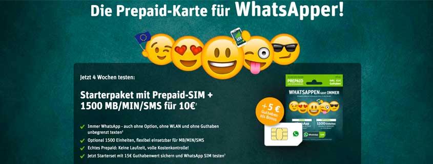 WhatsApp SIM 1.500 Tarifoption: Für wen lohnen sich die flexiblen Einheiten?